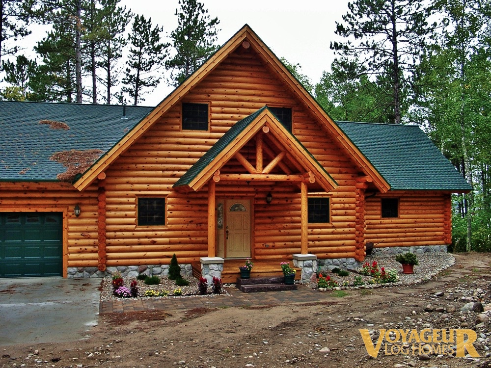 Gallery Half Log Voyageur Homes