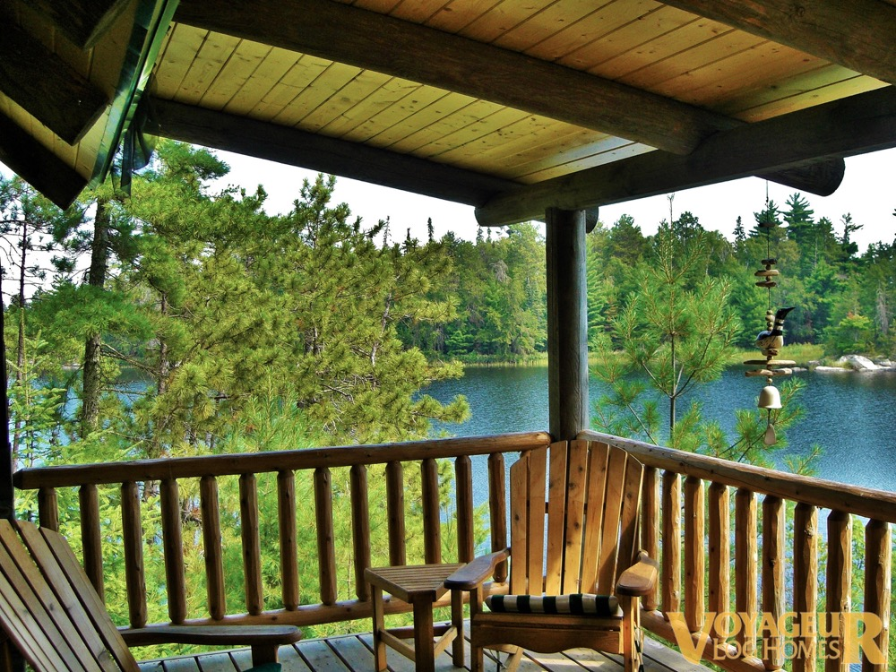 Services green building voyageur log homes for Building an efficient home