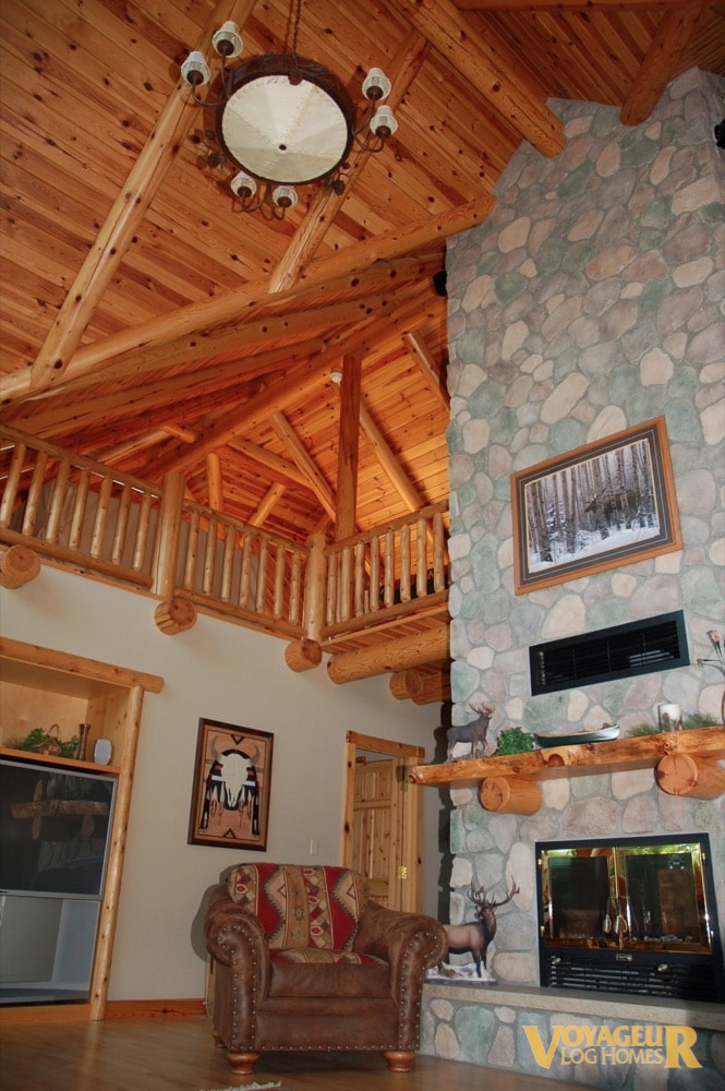 ... Out Of The House To Create That Full Log Aesthetic, While Utilizing  Alternative Building Techniques, Or Floor Plans That Are Not Cost Effective  For Full ...